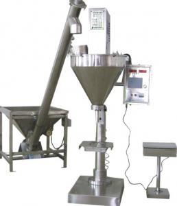 Vertical Semi-Automatic Packing Machine for Coffee Powder / Milk , Feeding Elevator