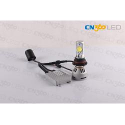 China Diecast Aluminum Housing Hi/Lo Beam Car Led Headlight Bulb 3200 Lumens on sale