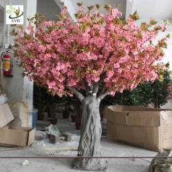 China UVG CHR061 Fake Trees for Wedding pink cherry blossom 12ft high on sale