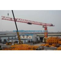 PT7532 Flat Top Tower Crane 75mts Working Jib 20t Load Without Head Type