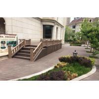 Environmental WPC Garden Fence , WPC Outdoor Railing Panel