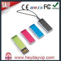 super thin factory wholesale mini usb flash drive mini usb flash memory