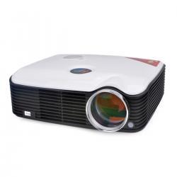 China Full HD HDMI / USB LED Mini Projector 2500 lumens with 360 Degree Flip on sale