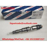 Genuine New BOSCH injector 0445120064 , 0 445 120 064 , 0445120 064 , 4902255 , 4902825 , 21006085 , 7420806011