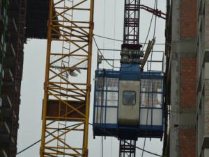650*650*1508 mm Construction elevator / hoist / lifter speed in 0 - 90 m/s