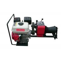 1 Ton Gasoline Engine Powered Cable Drum Winch for Power Construction
