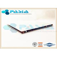 Polyester Powder Coated Honeycomb Roof Panels With Edge Exposed Building Top