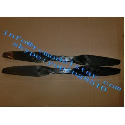 China Carbon Fiber Propeller RC Plane Accessories Customized For RC Helicopter on sale