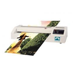 China Commercial Desktop Laminating Machine Infrared Radiation Heating on sale
