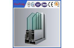 China puertas de aluminio y ventanas de la rotura termal del grueso de 1.6m m proveedor