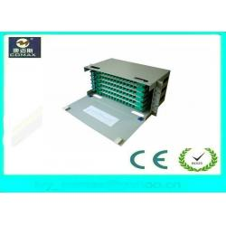 China 72 Cores Rack Mount / Wall Mount ODF Optical Distribution Frame FC SC LC For FTTH on sale