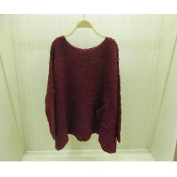 China Fancy Winter Crew Neck Sweaters in Jacquard Pattern Pullover for Womens on sale