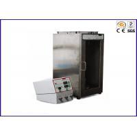 Fabrics Textile Testing Equipment Vertical Flame Resistance Performance Testing Equipment