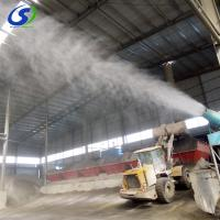 China supply fog cannon dust control systems security fog machine