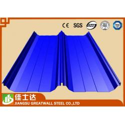 China PE , PVDF , HDP , SMP Color Coated Roofing Sheets In Coils PPGI PPGL on sale