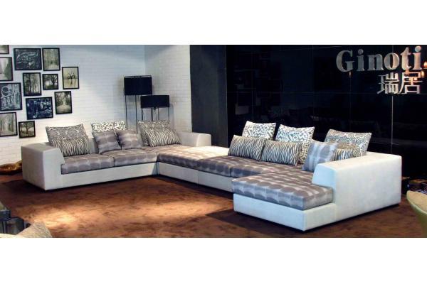 Sofas de esquina awesome sof de esquina time break with for Sofas tela modernos