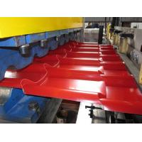 Many Sorts of Tiles on  the Roof Roll Forming Machine Use Full Automated Control for IBR / Corrugated Roof Tile