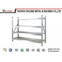 Free Standing Foldable Carbon Steel Wire Storage Shelves Chrome Plated