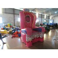 Pink Inflatable Airtight princess the chair on sale sealed inflatable decoration
