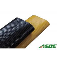 High Tensile Rubber Hose Pipe , Flat Water Hose For Mining Dewatering Solutions