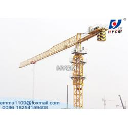 China 64M Tower Crane Boom Length Civil Construction Equipment 12 tons Topless Type on sale