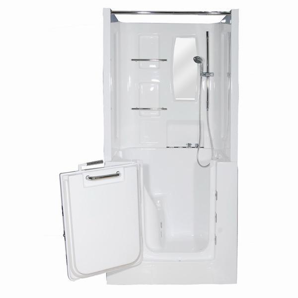 RMW002 EN Walk In Tub With Shower Enclosure Richy Foshan