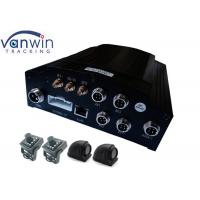 4 - CH H.264 CCTV Mobile DVR Bus People Counter , CMS 3G Mobile DVR WITH GPS Track