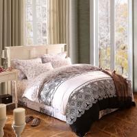 Home Textile King Size Cotton Bedding Sets Beautiful Design Washable