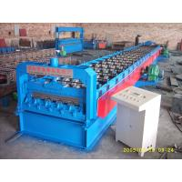 720 Floor Deck Roll Forming Machine 15 KW Power and 400H Main Frame