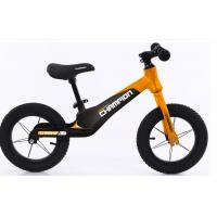 Factory Direct Supply  12inch Magnesium  Alloy Baby Push Bike Kids Toys Bike No Pedals With Aluminum Alloy Wheelset