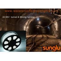 DC / AC 36V Flexible LED Strip Lights For Mining / Tower Crane / Shipbuilding