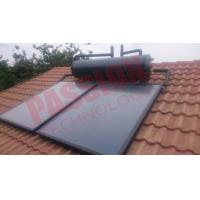Stainless Steel 316 Freestanding Roof Mounted Solar Water Heater , Solar Hot Water System