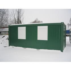 China 20 Feet Prefab Container House With Waterproof , Shipping Container Homes on sale