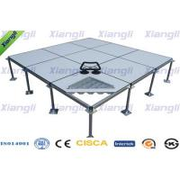 Clean Room Antistatic Steel Raised Floor Panels / Raised Flooring Tiles