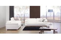 Sof cama de couro luxuoso do estilo italiano mob lia do for Sofa cama estilo italiano