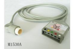 China Cable original del tronco del ecg de la ventaja de Philips 5, M1530A, IEC proveedor