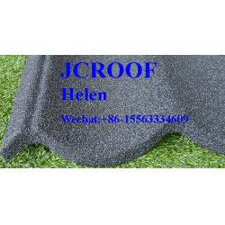 China Bond Tile Stone Coated Roofing  Sheet 0.4mm Thickness ISO9001 / CE / Soncap on sale