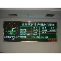 Modular Matrix Message 2R1G Tri Color Led Display Screen P16 10mm Pixel Pitch