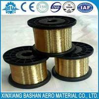 xinxiang  bashan  Wire  Spool  Brass  Hard  EDM  Brass Wire