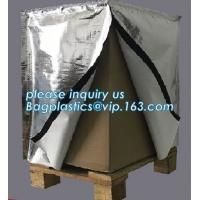 Reflective Bubble Foil Blanket for pallet cover, Thermal insulated pallet cover aluminum foil insulation bag container f