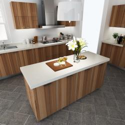 China Commercial Plywood Painting Melamine Kitchen Cabinets Laminate Finish on sale