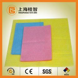China 100% Rayon Nonwoven Fabric Spun Laced Material for Baby Wipes , Healthcare on sale