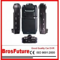 Two Dual Lens Car Black Box Video Recorder with Nighvision Function 1280*480 Resolution