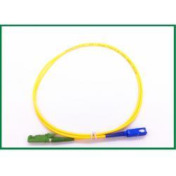 China Fiber Optic Patch Cord SC/UPC To E2000/APC Single Mode Patch Cord on sale