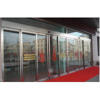 Intelligence Safety Sliding Automatic Doors Drive Reliability Tested To 1000000 Cyces