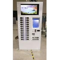 Multi functional Storage Cabinet Charging Vending Machine for Smart Phone, Interactive UI & Control Software Support