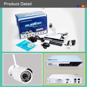 Plug And Play 4CH NVR Kit Onvif Wifi CCTV Camera For Monitoring Surveillance