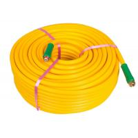 Yellow Chemical Sprayer Hose , Agriculture PVC Pipe For Chemical Water Delivery