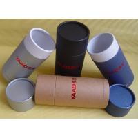 Custom printed paper cardboard cylinder wine packaging paper tube box