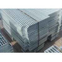 Platform Galvanized Steel Grating High Strength Q235 Building Material